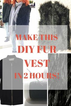 Make This DIY Fur Ve