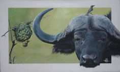 African Paintings, Space Gallery, Community Art, New Art, Art Projects, Moose Art, Arts And Crafts, Welsh, Buffalo