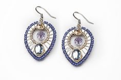 Nova Earring by Liztech.  American Made. See the designer's work at the 2016 American Made Show, Washington DC. January 15-17, 2016. americanmadeshow.com #americanmadeshow, #americanmade, #jewelry, #earrings