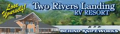 Two Rivers Landing RV Resort Near Great Smoky Mountain National Park, Pigeon Forge, Sevierville, and Gatlinburg, Tennessee