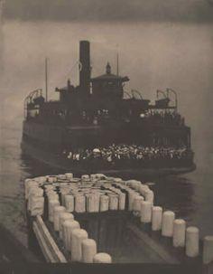 ALFRED STIEGLITZ, The Ferry Boat, 1903.