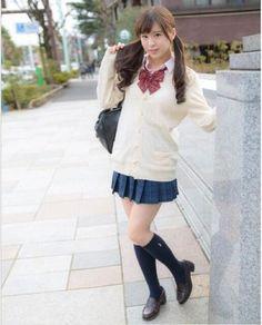 Japanese School Uniform, School Uniform Girls, Girls Uniforms, Magical Girl, Japanese Girl, Cord, Style, Weather, Blog