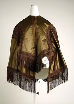 Cape  -  American Or European   c. Mid 19th Century