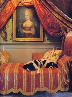 exactly where they belong!   image via The Essence of French. Spot the cavalier