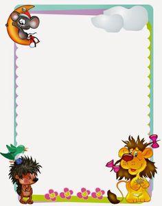 CARATULAS, BORDES y MARCOS PARA CUADERNOS DE NIÑOS. Las caratulas para cuadernos y trabajos de niños: es todo un desafío encontrar caratulas apropiadas, que le den a nuestros niños y niñasese detalle que los haga sobresalir sobre los demás.... Borders For Paper, Borders And Frames, Word 2016, Disney Frames, Paper Art, Paper Crafts, Sticker Chart, Simple Borders, Framed Wallpaper