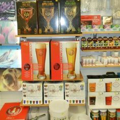 <p>Home brew ingredients and equipment to make your own Beers, Wines, Spirits and Liqueurs at home<p/>  <p>Carefully selected products from the finest ingredients available. A Large selection of wine kits, beer kits, equipment and chemicals.<p/>