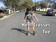 Backwards Basics (Lesson 3) we RollerSkate - YouTube