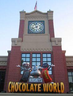 Hershey, Pennsylvania..yes please