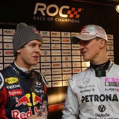 ROC 2012: Michael Schumacher & Sebastian Vettel