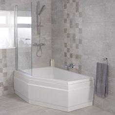 Trio 1500 x 1000 Left Hand Shower Bath