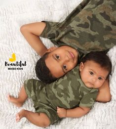 Carter Michael - 5 Years & Camren Ethan - 3 Months • Mom: Mexican • Dad: African American & Mexican