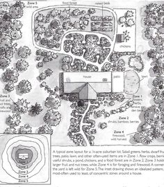 Backyard Permaculture Design to create an amazing garden! Permaculture design principles & permaculture design ideas to grow your permaculture garden Permaculture Design, Permaculture Garden, Homestead Layout, Farm Layout, Plan Drawing, Forest Garden, Hobby Farms, Farm Gardens, Veggie Gardens
