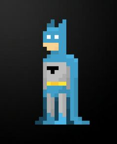 8-Bit Batman - by Matt Tonak