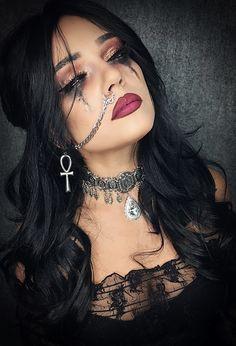 Halloween halloweenmakeup makeup witch gothic