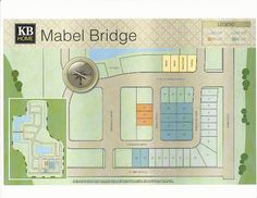 Mabel Bridge Site Plan in Orlando FL