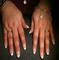 oval nail french design | Nailart Designs - House of Nails