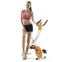 Fitleader FX1 Indoor Exercise Folding Upright Bike 44 Height Adult Compact Stable Cycling -- Visit the image link more details.(This is an Amazon affiliate link and I receive a commission for the sales)