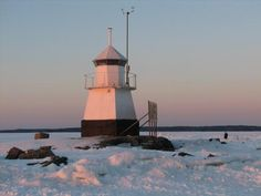 Siilinkari, Tampere - the best destination for sunday walks in winter time Lighthouse Keeper, Light House, Amazing Destinations, Winter Time, Future, History, World, Beach, Water