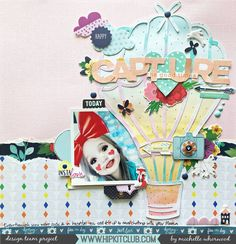 Using a cut file as a focal point on your layout makes a great platform for embellishing! Designer @harbourgal created this gorgeous whimsical layout using the #may2017 #hipkits! @hipkitclub #hipkitexclusives #hkcexclusives #exclusives #hipkit #hipkitclub #textures #whimsical #silhouettecameo #cutfiles #scrapbooking #scrapbooklayout #papercrafting #kitclub #scrapbookingkitclub #colors #layers #dimension #scrapbookkits #mainkit #projectlifekit #embellishmentkit @pinkfreshstudio #dreamon…