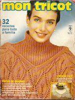 Revista Mon Tricot: Mon Tricot 108 - Abril 1989