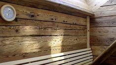 Bildergebnis für sauna altholz Sauna, Bamboo Cutting Board, House, Old Wood, Pictures, Home, Homes, Houses
