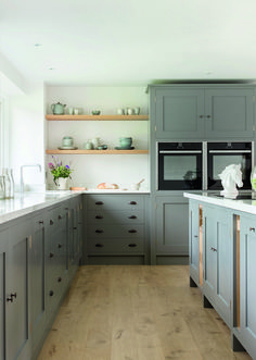 From real stone tiles to lookalike vinyl, we look at all the best flooring for kitchens Best Flooring For Kitchen, Wood Floor Kitchen, New Kitchen, Kitchen Ideas, Kitchen Decor, Best Engineered Wood Flooring, Real Wood Floors, Cottage Kitchens, Cool Kitchens