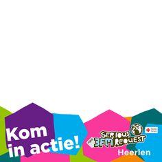 Ik kom in actie voor #sr15 #3FM Serious Request 2015 in Heerlen - Support Campaign | Twibbon
