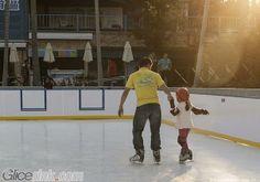 Mini Curlink Synthetic Ice Rink, Ice Skating, Skate, Basketball Court, Sports, Korea, Mini, Hs Sports, Skating