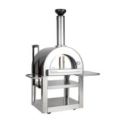 Outdoor Pizza Ovens : BBQGuys Wood Burning Oven, Wood Fired Oven, Wood Fired Pizza, Portable Pizza Oven, Pizza Oven Outdoor, Outdoor Barbeque, Bbq, Ceramic Insulation, Refractory Brick