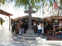 Historic Olvera Street Los Angeles, California USA