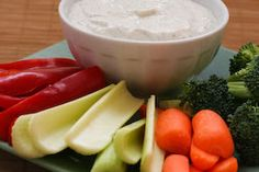 Diet Friendly Ranch-Style Dip:  Greek Yogurt and Cottage Cheese Dip with Dill from Kalyn's Kitchen