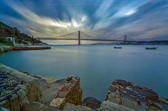 """25 de Abril"" Bridge, Almada - Lisbon by Ricardo Bahuto Felix on 500px"