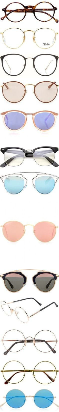 glasses by sabina-127 on Polyvore featuring women's fashion, accessories, eyewear, eyeglasses, glasses, sunglasses, fillers, retro glasses, vintage round glasses and leopard glasses