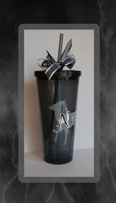 """Harry Potter """"Always"""" 20 ounce Insulated Tumbler with Lid and Straw by DiecutsandDesigns on Etsy"""