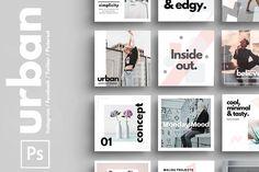 PSD | Urban Social Media Pack by 9