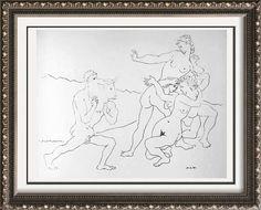 Pablo Picasso Art For Sale Bull c. 1954 Fine Art Print from Museum Artist