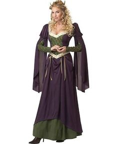 lady in waiting medieval times costume