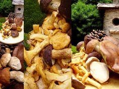 Utkane z marzeń: Dary lasu Stuffed Mushrooms, Vegetables, Food, Stuff Mushrooms, Essen, Vegetable Recipes, Meals, Yemek, Veggies