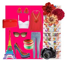 Spring in Paris by giubagnols on Polyvore featuring polyvore, fashion, style, Acne Studios, Mother, Brian Atwood, D&G, H&M, Betsey Johnson, Tarina Tarantino, Opening Ceremony, Pier 1 Imports, Manolo Blahnik, Merci Gustave! and clothing