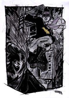 Rockabilly Batman needs to be a full book. Love Batgirl's stompy boots.
