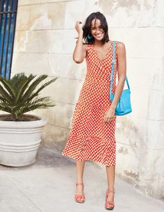Nicole Jersey Dress J0211 Day Dresses at Boden