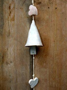 Keramik Windspiel Keramik Glocke in pastell von gedemuck auf Etsy, €17.00