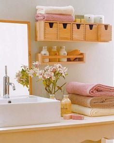 Badeinrichtung Mit Extra Stauraum - Http://cooledeko.de/badezimmer ... Diy Badezimmer