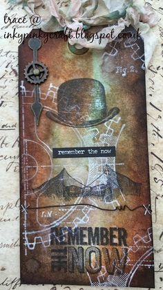 inkypinkycraft: Summer of Creative Chemistry - Week Two - part one - Remember the Now x