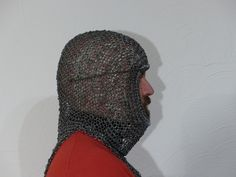 Medieval Armor, Chainmaille, Helmets, Warfare, Armour, Costumes, Fashion, Headdress, Military Personnel