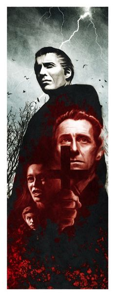 """""""Dracula (1958) - Nemesis Variant"""" by Andrew Swainson - Hero Complex Gallery"""