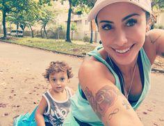 Passeio de bike juntos. Queima calorias e sua cria se diverte coladinho com a mamãe. ❤️