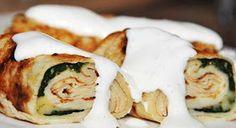 Smacznie i Zdrowo...: Przepisy dietetyczne Mashed Potatoes, Sushi, Cheese, Ethnic Recipes, Food, Whipped Potatoes, Meal, Smash Potatoes, Hoods