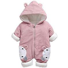 ce26f714a3fb5 Cicilin Unisexe Bébé Grenouillère Barboteuse Combinaison Coton Costume  Enfants Body à Capuche Pyjama Animal Cosplay Onesie Déguisement  salopettes  ...