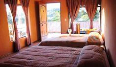 Hotel Rustic Lodge #CostaRica | monteverdetours.com
